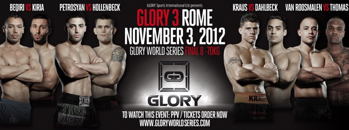 GLORY 3 Rome
