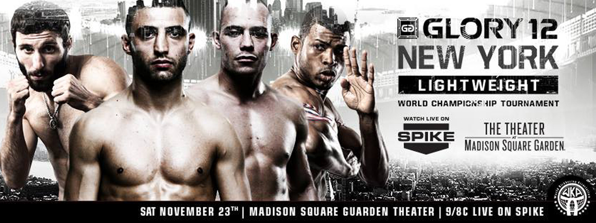 GLORY 12 New York