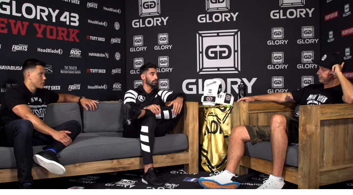 The GLORY Kickboxing Podcast: Episode 17 (featuring Josh Jauncey)