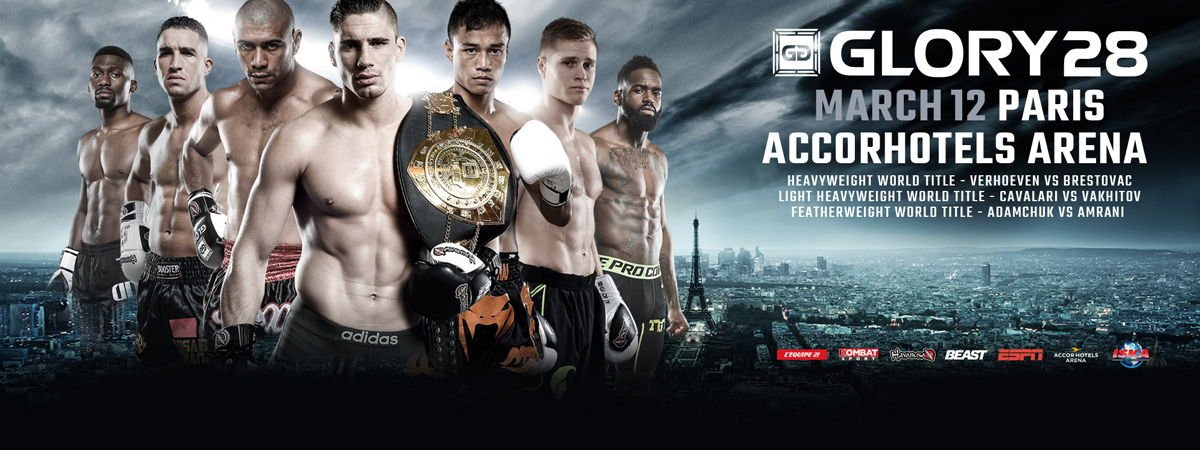 GLORY 28 Paris