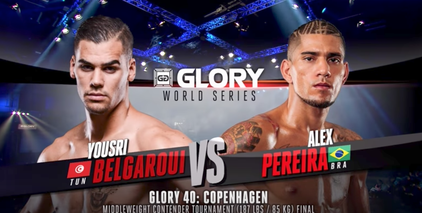 FULL MATCH - Yousri Belgaroui vs. Alex Pereira - Tournament Finals: GLORY 40 Copenhagen