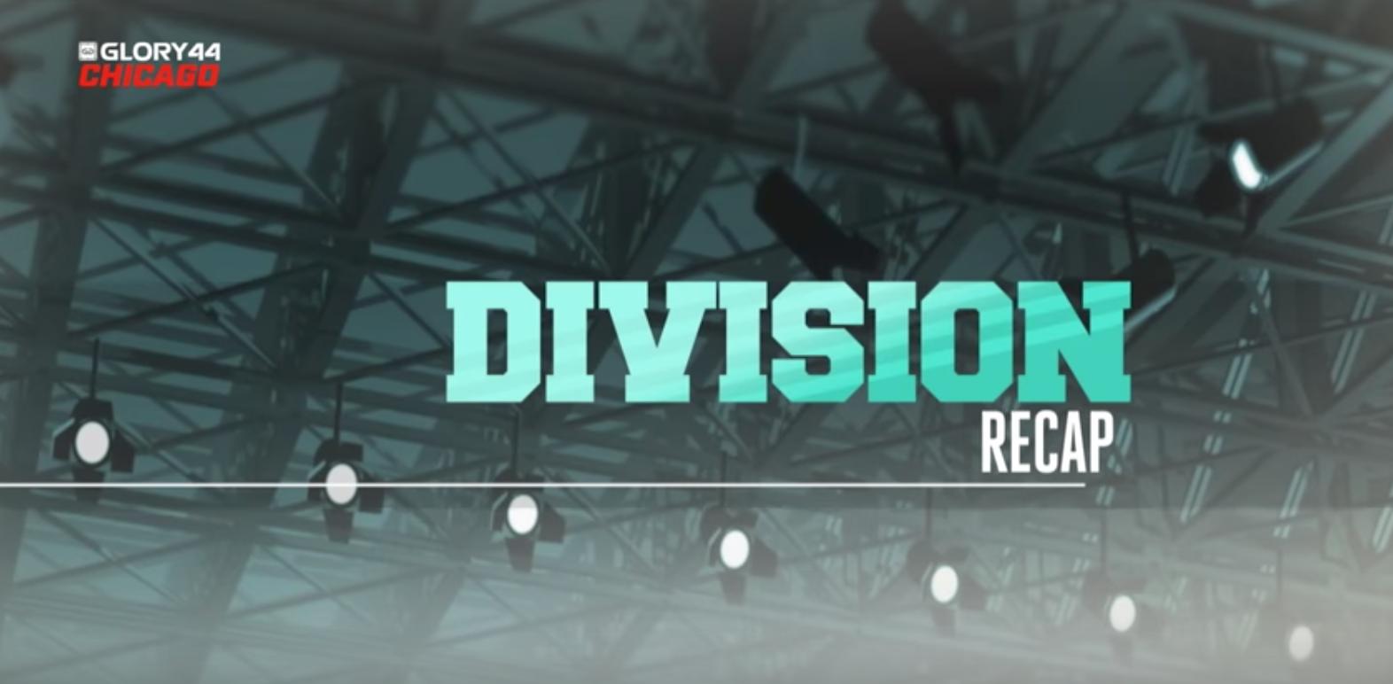 Division Recap - August 2017