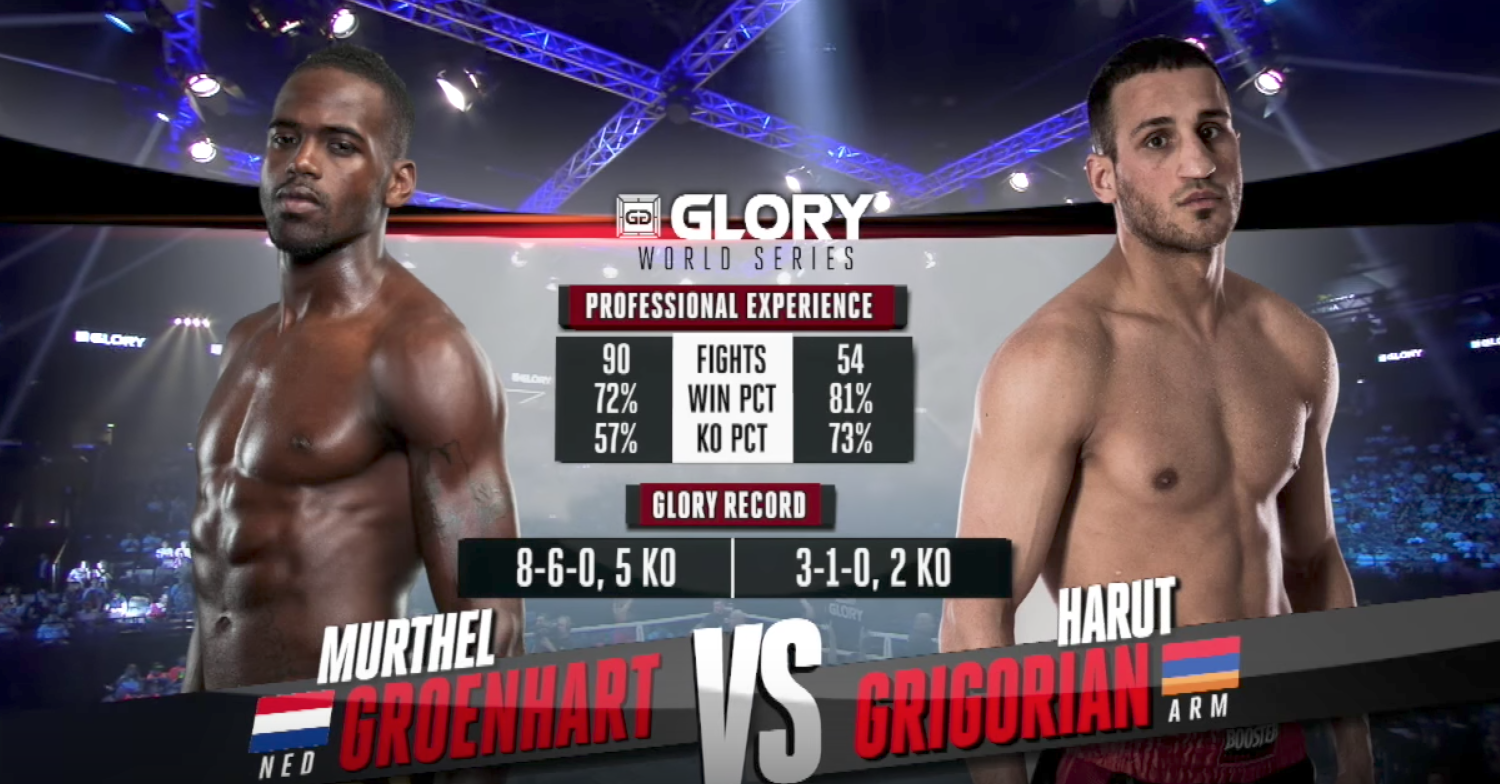 FULL MATCH - Murthel Groenhart vs. Harut Grigorian: GLORY 42 Paris