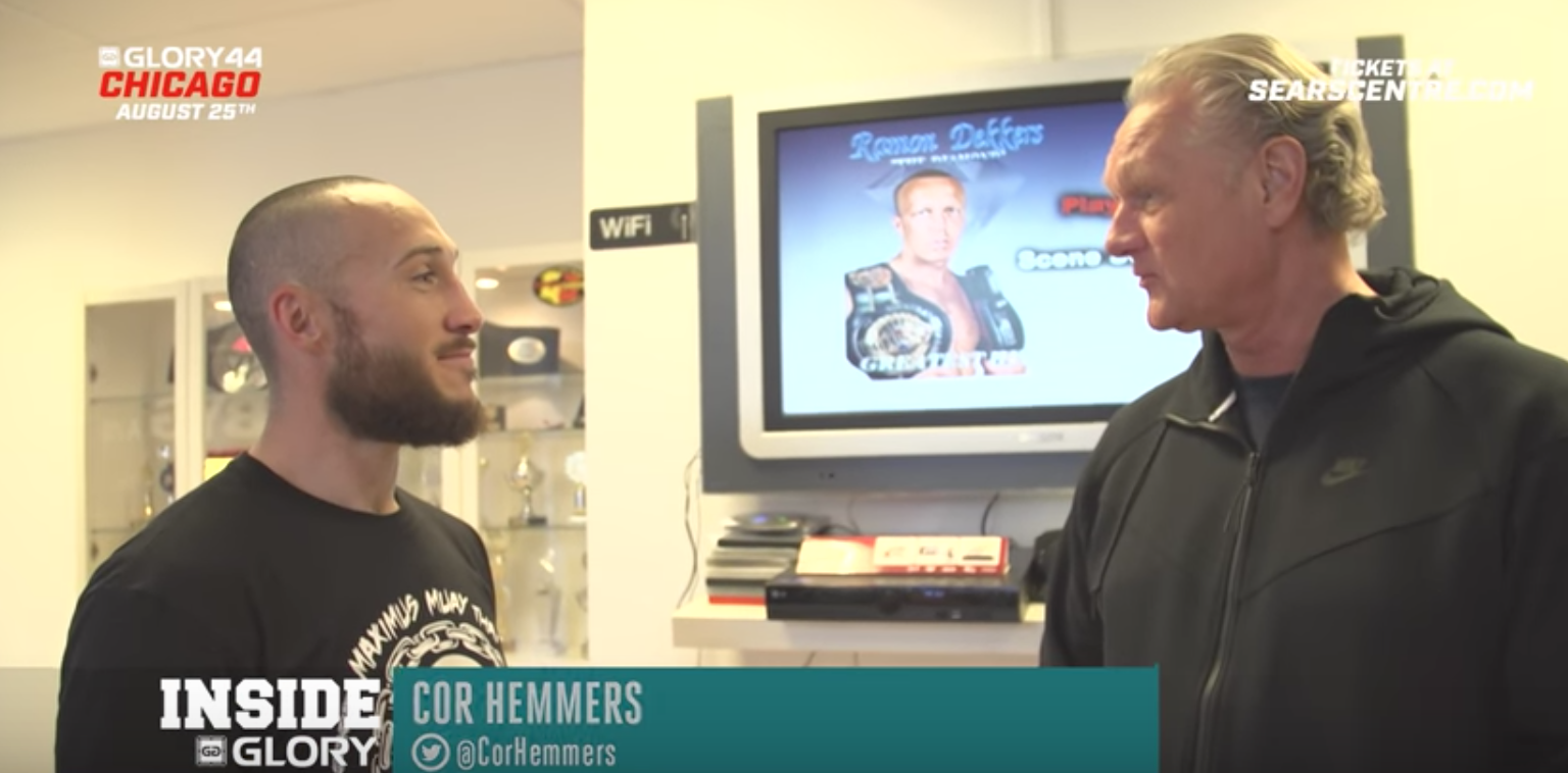 A dream come true - Richard Abraham trains with Cor Hemmers: GLORY 44 Chicago