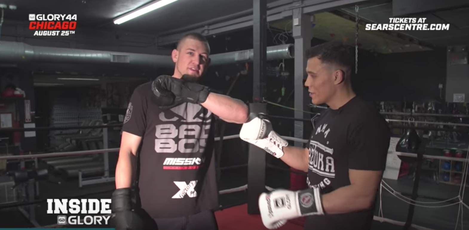 Part 1 - Dustin Jacoby reflects on fighting for middleweight title: GLORY 44 Chicago