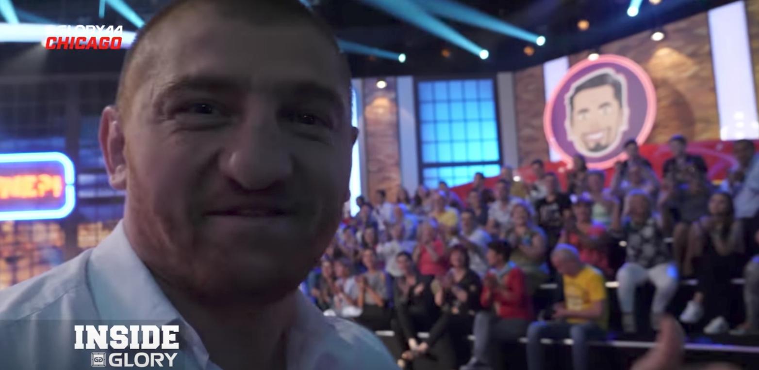 Cătălin Moroșanu's makes a guest appearance on Romanian TV show: GLORY 44 Chicago