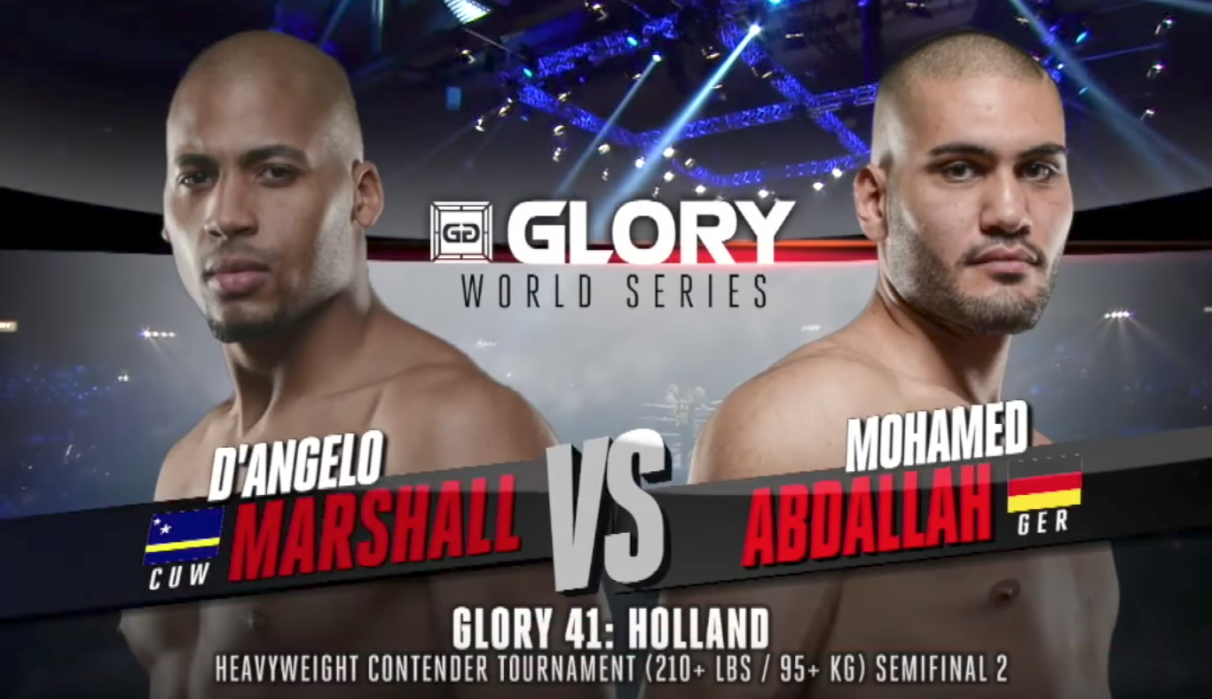 FULL MATCH - D'Angelo Marshall vs. Mohammed Abdallah - Tournament Semi-finals: GLORY 41 Holland