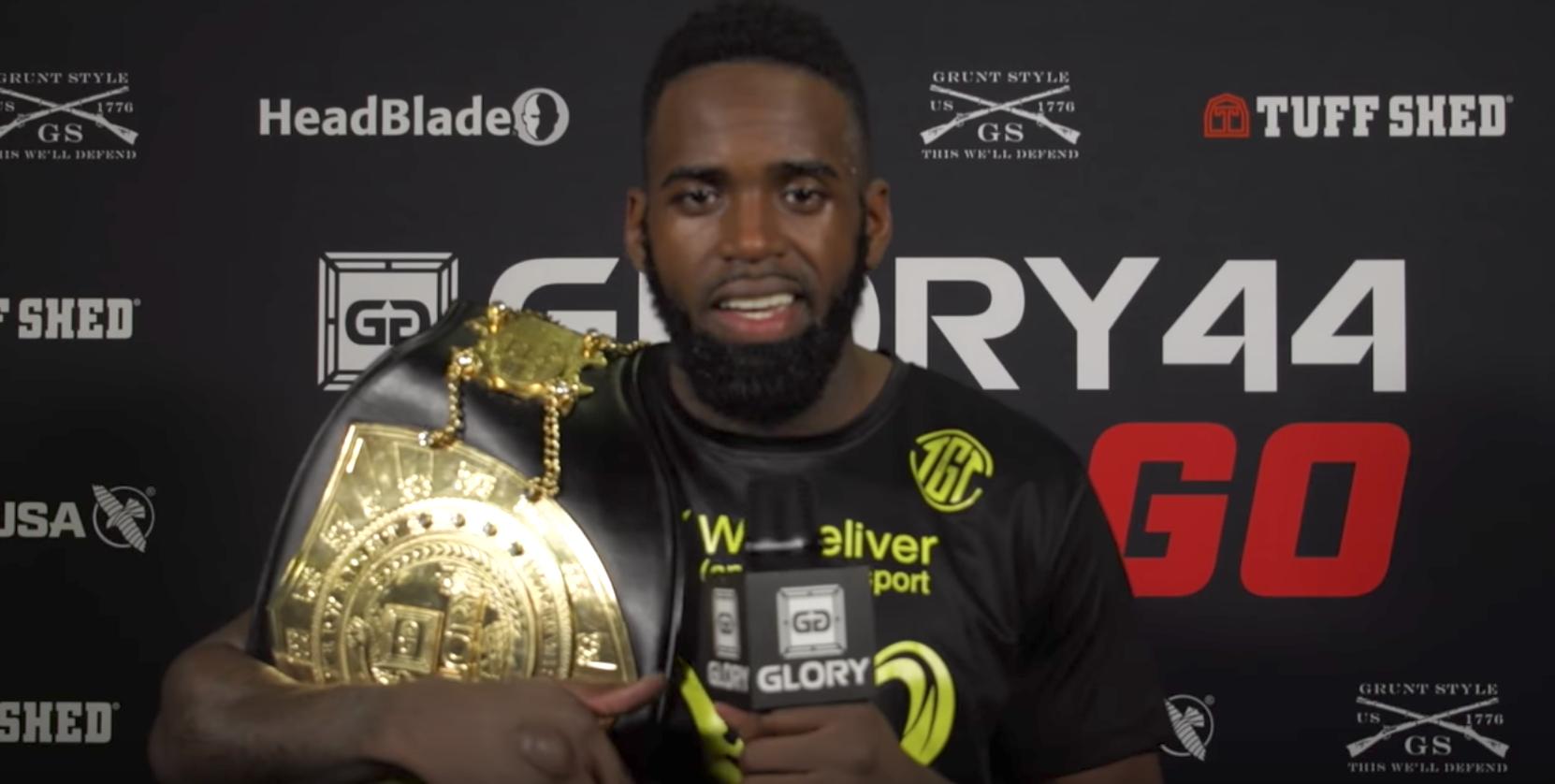 """Welterweight is a war zone"" says new champion Murthel Groenhart"