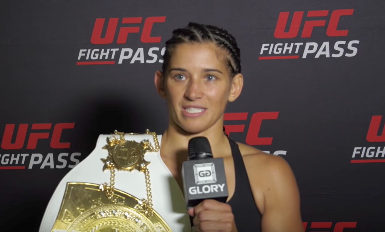 Tiffany van Soest on defending title with stoppage win at GLORY 44 CHICAGO
