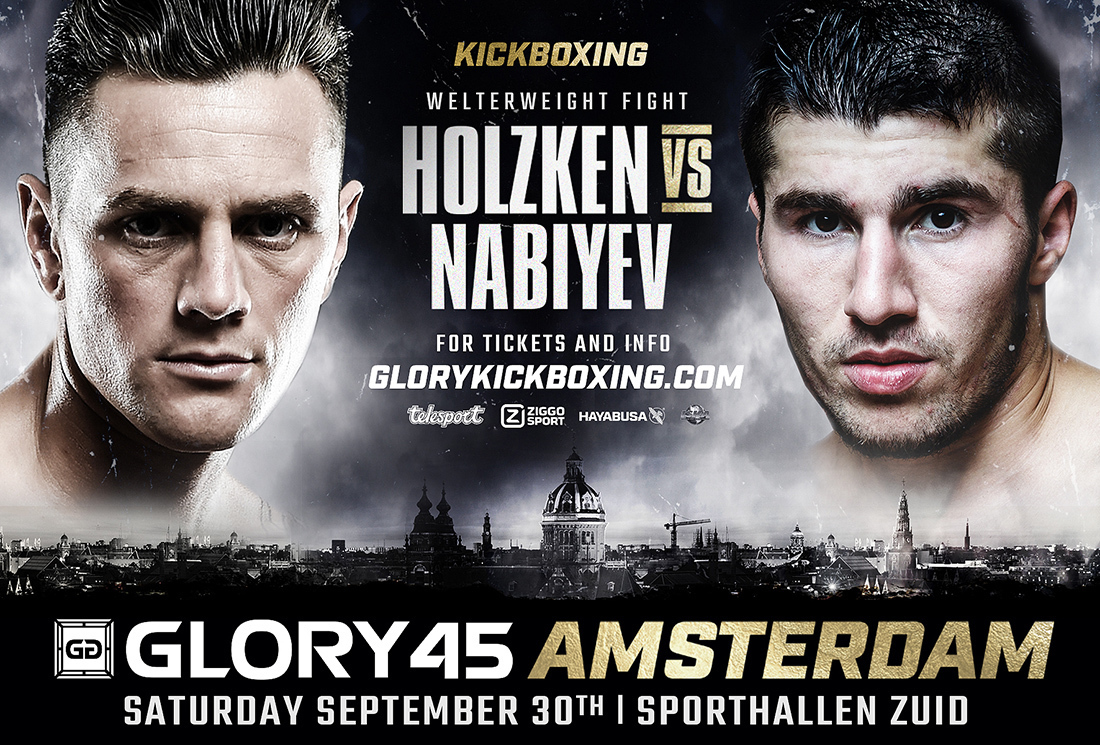 Alim Nabiyev Replaces Yoann Kongolo in GLORY 45 Amsterdam Welterweight Co-Headline Bout Against Nieky Holzken