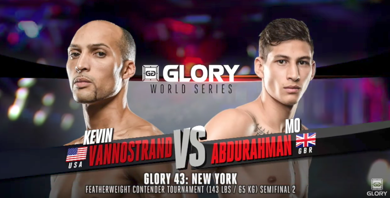 FULL MATCH - Kevin Vannostrand vs. Mo Abdurahman - Tournament Semi-finals: GLORY 43 New York