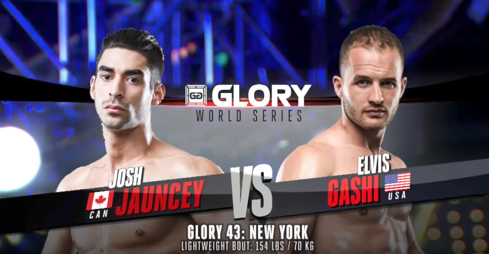 FULL MATCH - Josh Jauncey vs. Elvis Gashi: GLORY 43 New York
