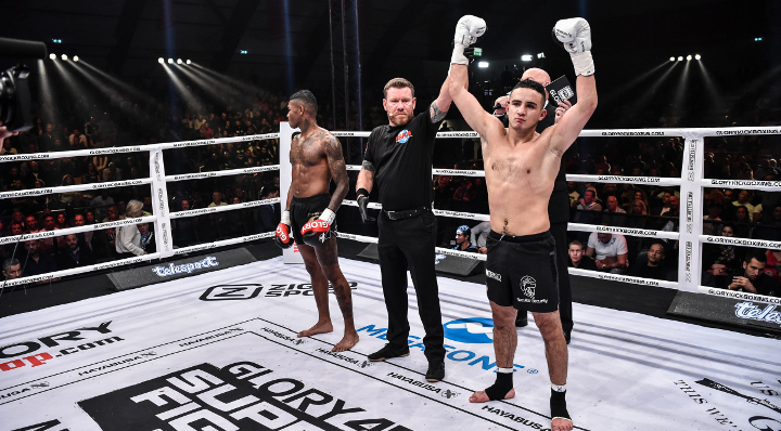Zougarry edges Glunder to go 2-0 in GLORY