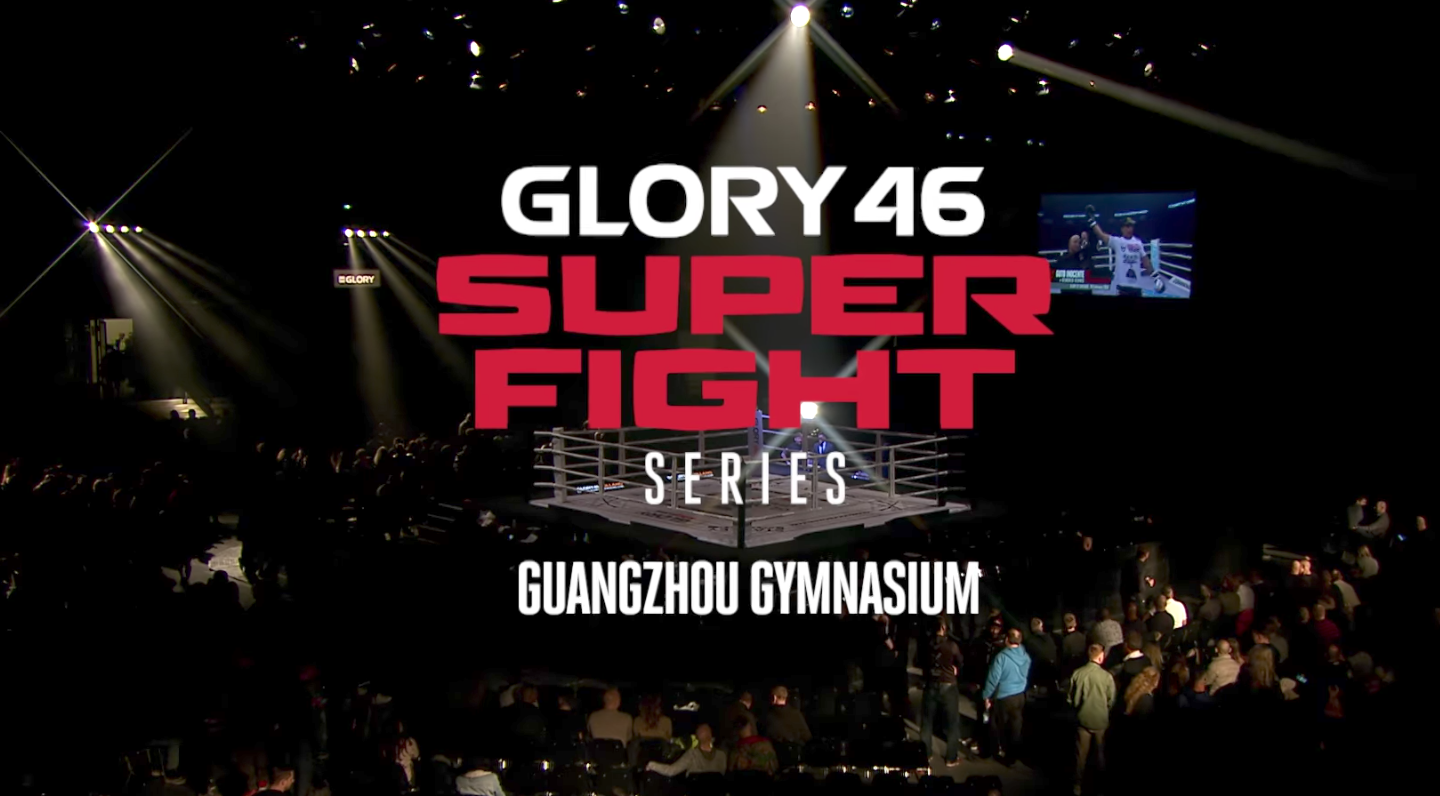 Don't miss GLORY 46 SuperFight Series on October 14th!