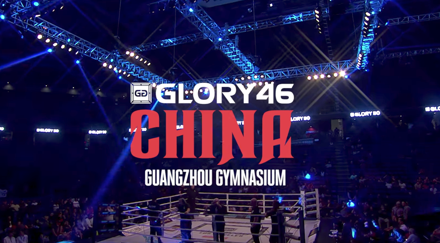 Don't miss GLORY 46 China on October 14th!
