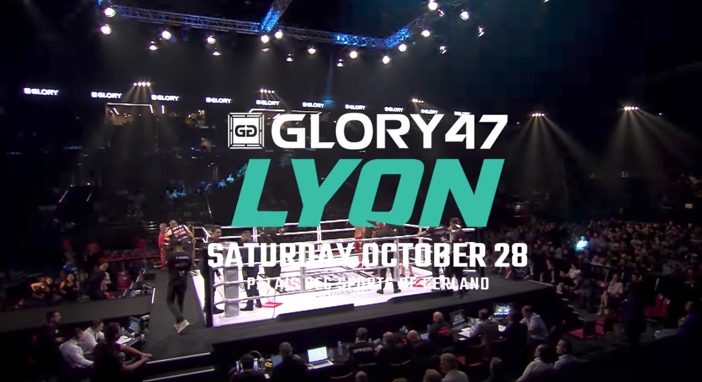 Don't miss GLORY 47 Lyon on October 28th!