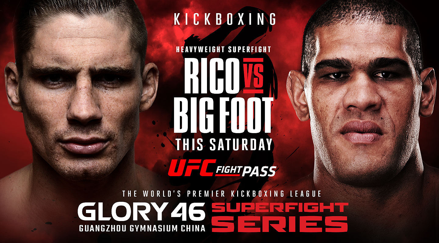 UFC FIGHT PASS® MAKES RICO vs BIGFOOT COLLISION FREE