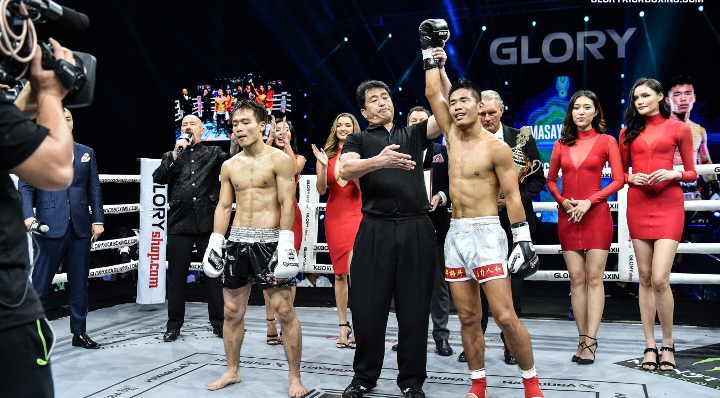 Zhang puts featherweight division on notice