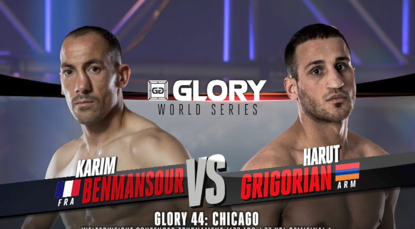 FULL MATCH - Harut Grigorian vs. Karim Benmansour - Tournament Semi-finals: GLORY 44 Chicago