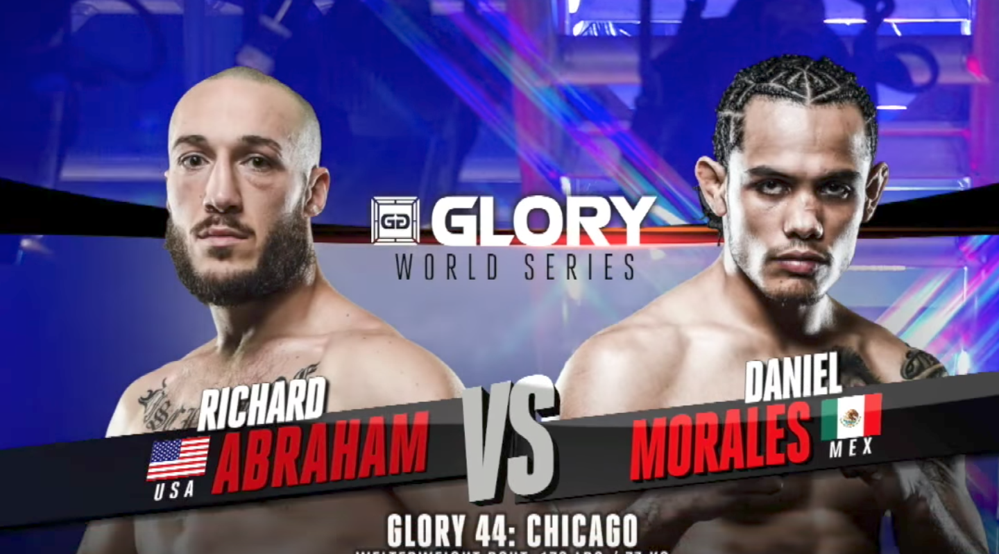 FULL MATCH - Richard Abraham vs. Daniel Morales: GLORY 44 Chicago