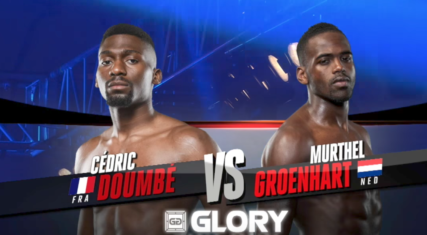 FULL MATCH - Cedric Doumbé vs. Murthel Groenhart - Welterweight Title Fight: GLORY 44 Chicago