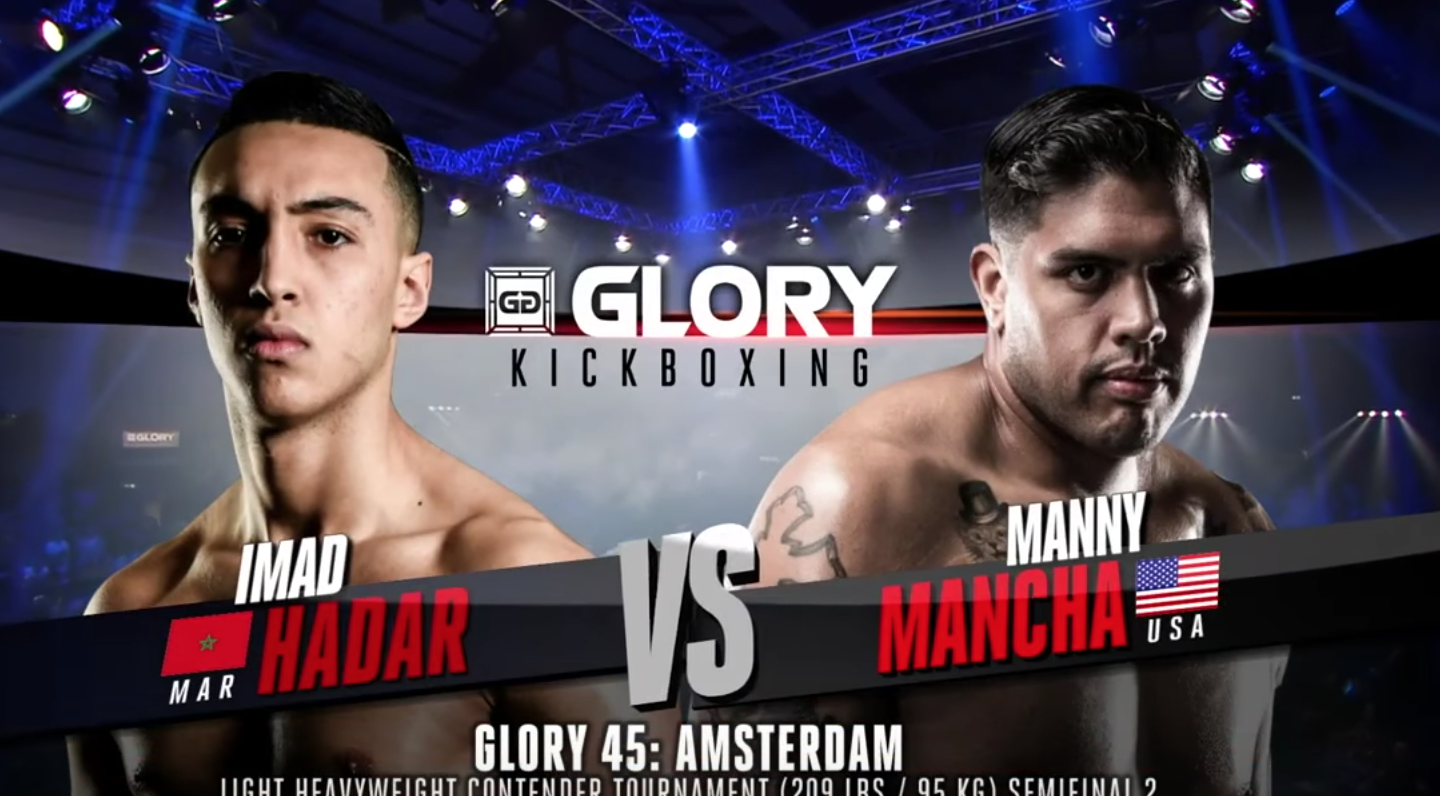 GLORY 45 Amsterdam: Imad Hadar vs. Manny Mancha (Tournament semi-finals) - FULL FIGHT