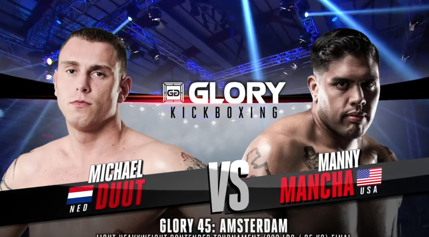 GLORY 45 Amsterdam: Manny Mancha vs. Michael Duut (Tournament Finals) - FULL FIGHT