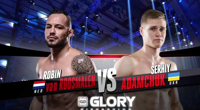 GLORY 45 Amsterdam: Serhiy Adamchuk vs. Robin van Roosmalen (Featherweight Title Match) - FULL FIGHT