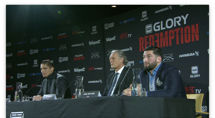 GLORY: Redemption - Press Conference Highlights