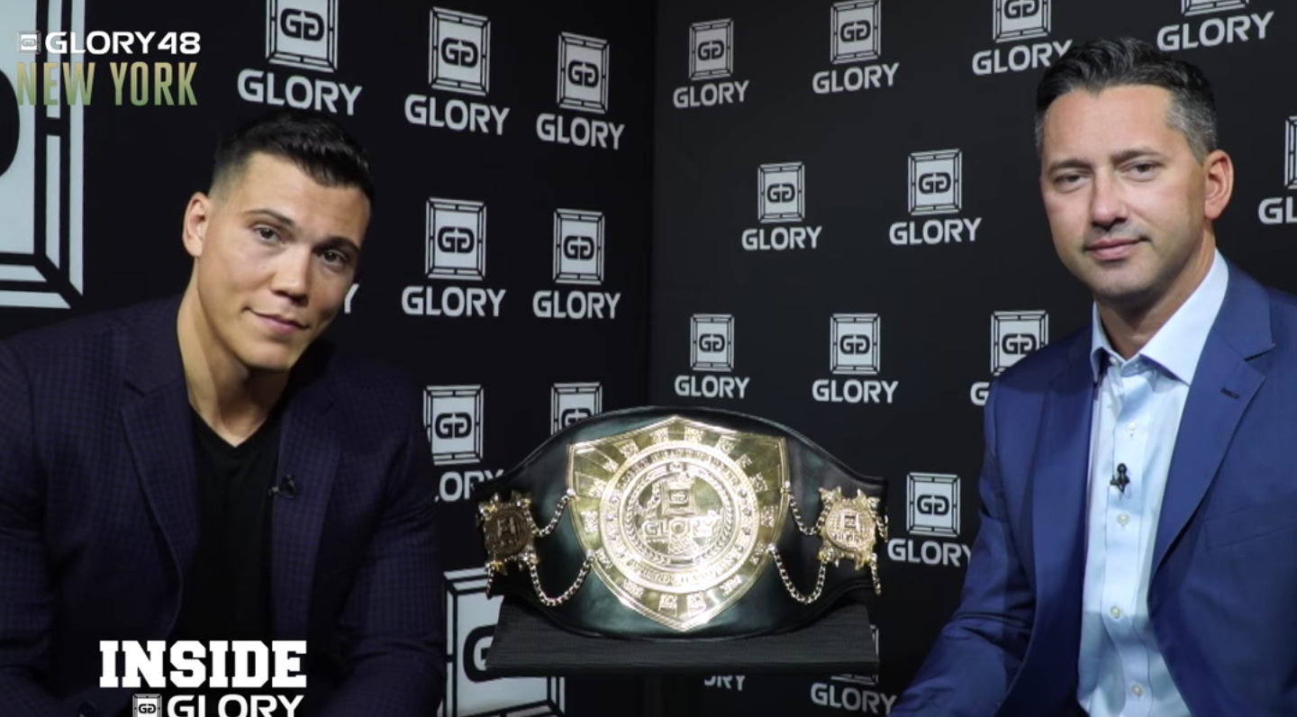 Todd and Joe breakdown GLORY 48 New York!