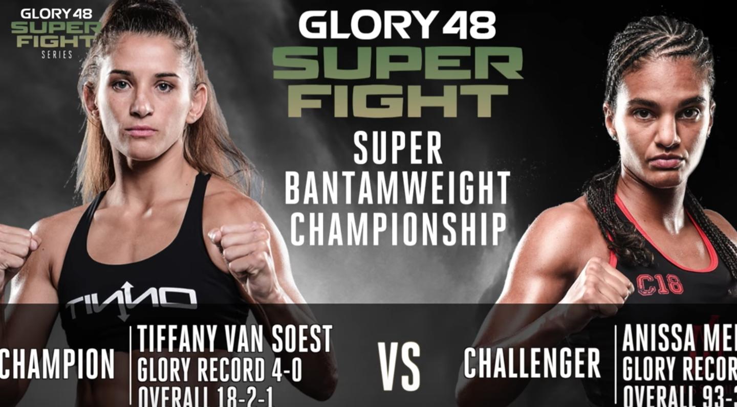 GLORY 48 New York: Tiffany van Soest vs. Anissa Meksen Preview