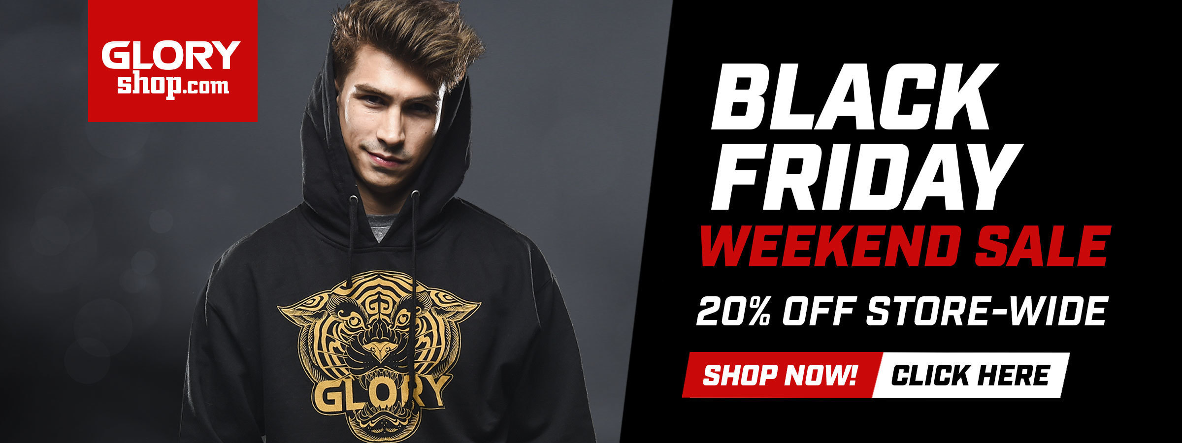 20% OFF STORE-WIDE ON GLORYSHOP