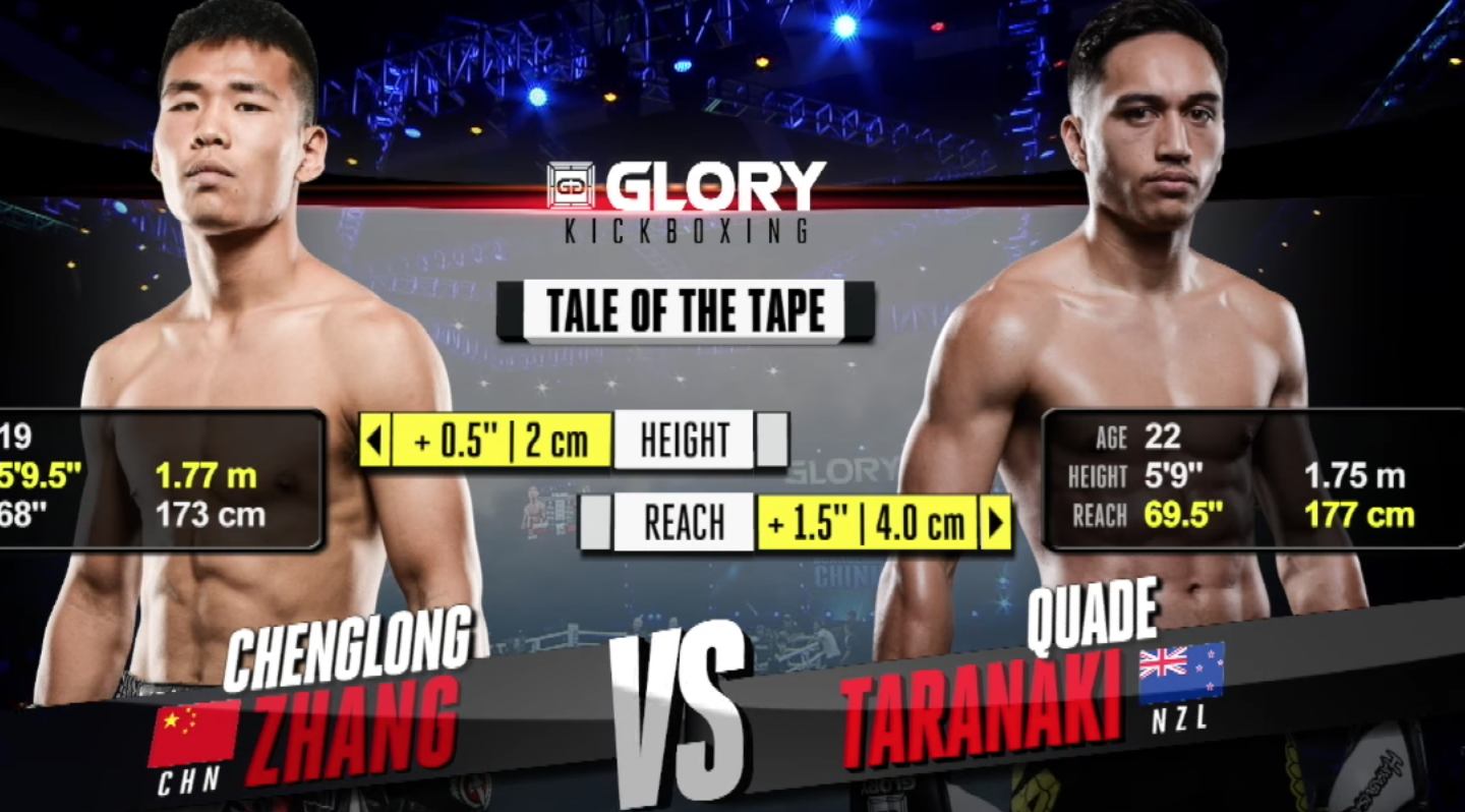 GLORY 46 Guangzhou: Chenglong Zhang vs. Quade Taranaki (Tournament semi-finals) - FULL FIGHT