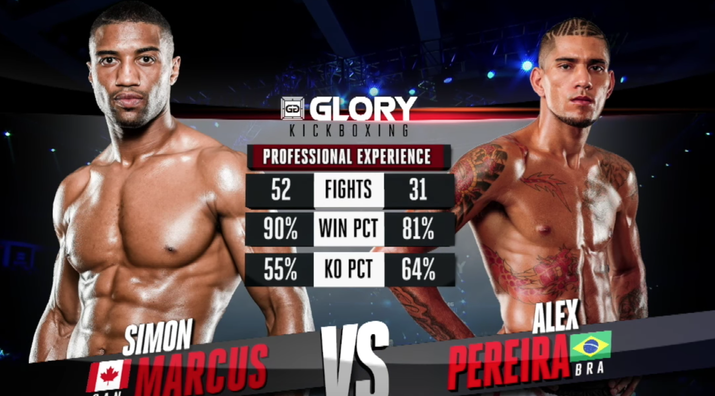 GLORY 46 Guangzhou: Simon Marcus vs. Alex Pereira (Middleweight Title Match) - FULL FIGHT