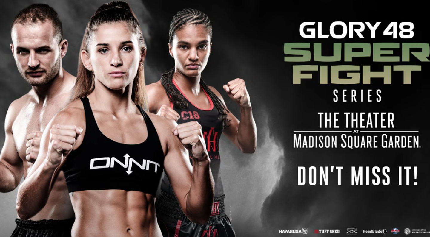 Don't miss GLORY 48 SuperFight Series on December 1st!