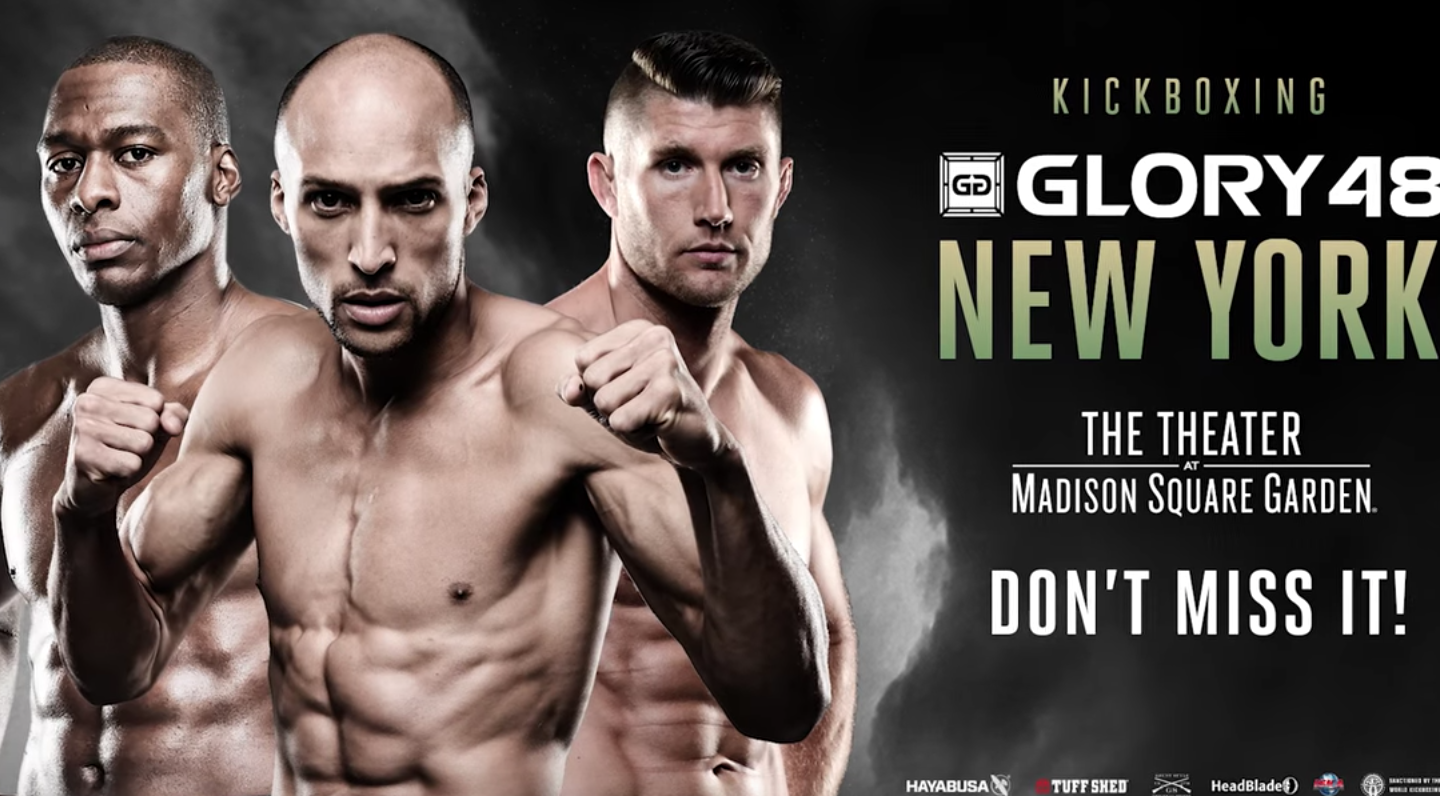 Don't miss GLORY 48 New York on December 1st!