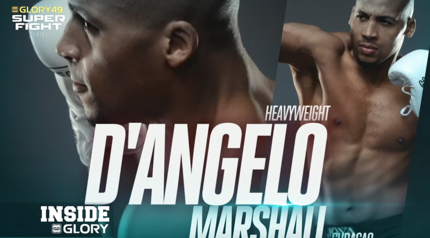 GLORY 49 Rotterdam: D'angelo Marshall trains with Rico Verhoeven ahead of heavyweight showdown