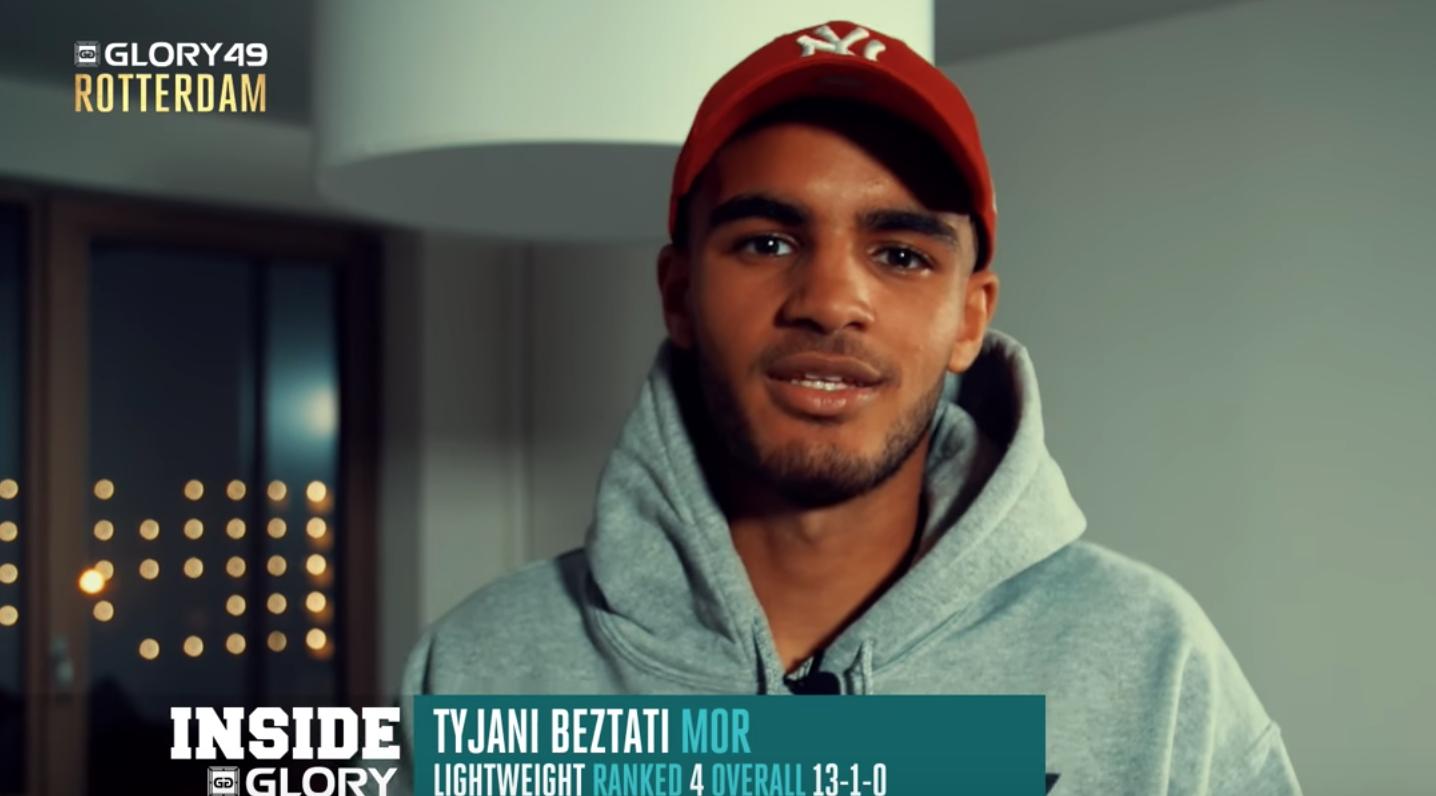 GLORY 49 Rotterdam: Tyjani Beztati expects career breakout moment on December 9th