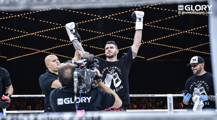 Camozzi passes first GLORY test with flying colors