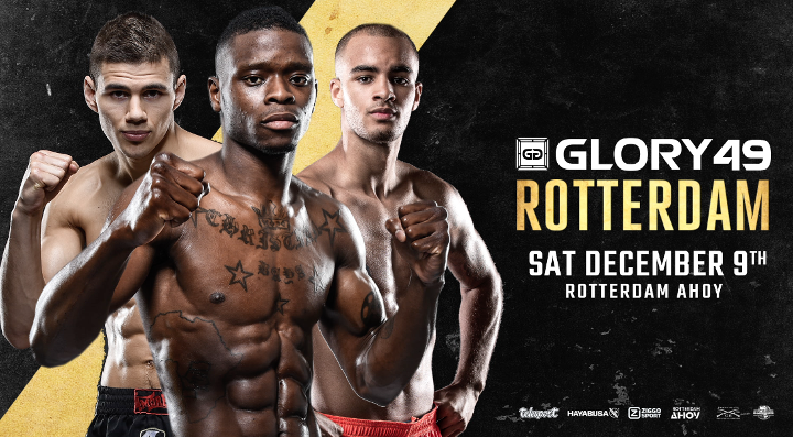 Don't miss GLORY 49 Rotterdam on December 9th!