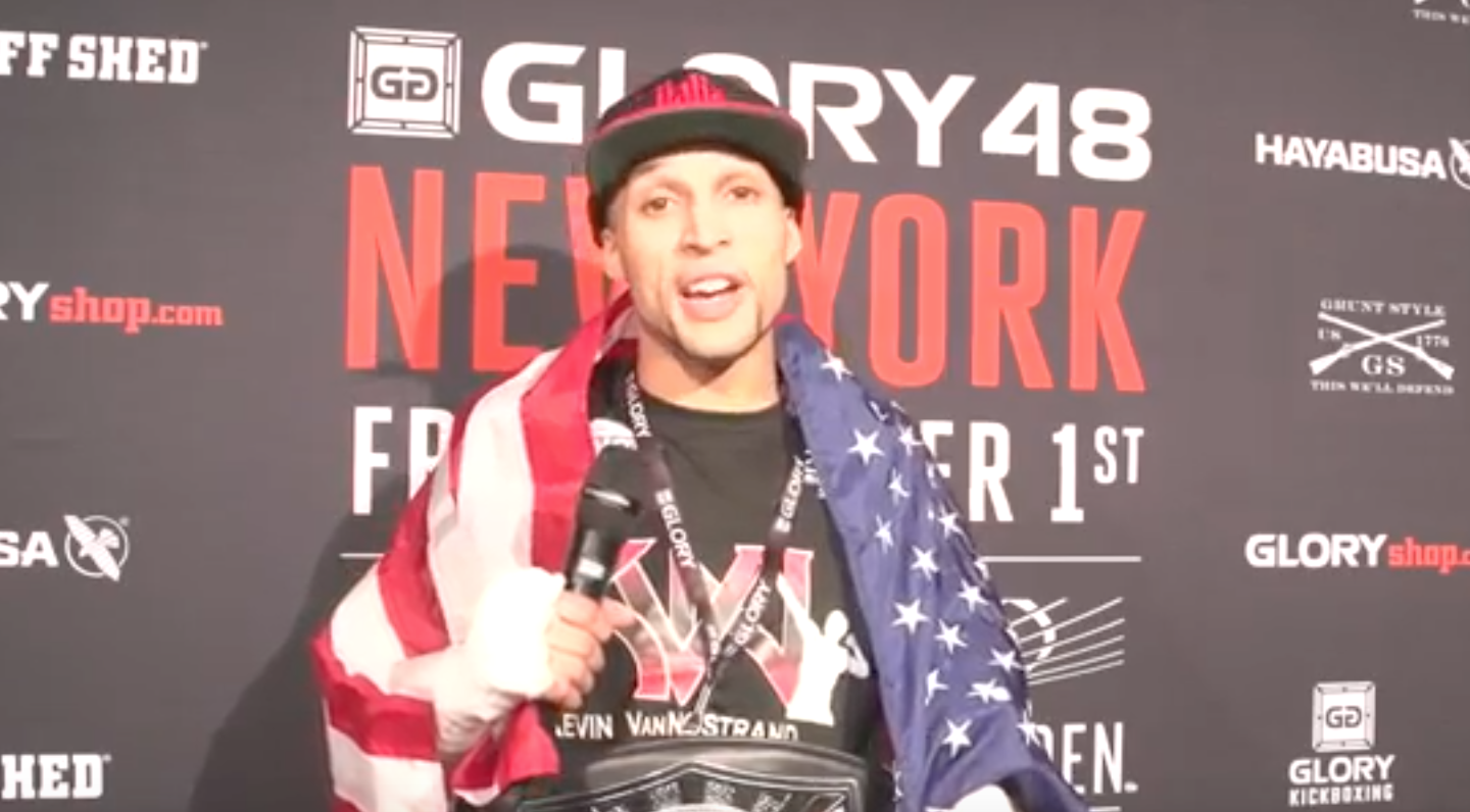 GLORY 48 Post-Fight: Kevin Vannostrand