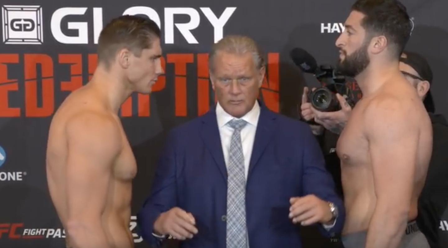 GLORY: Redemption - Official Weigh-ins