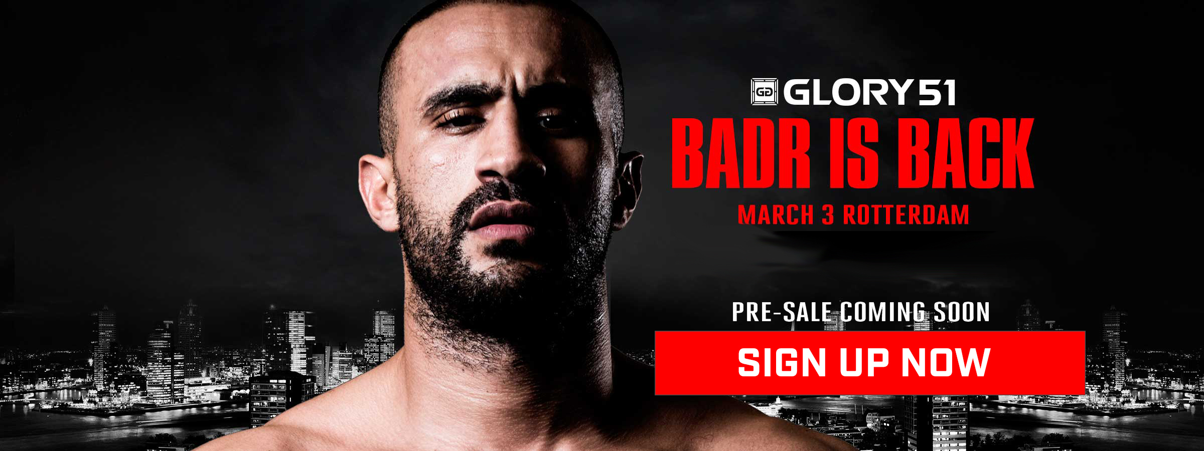 Sign up for GLORY 51 pre-sale info!