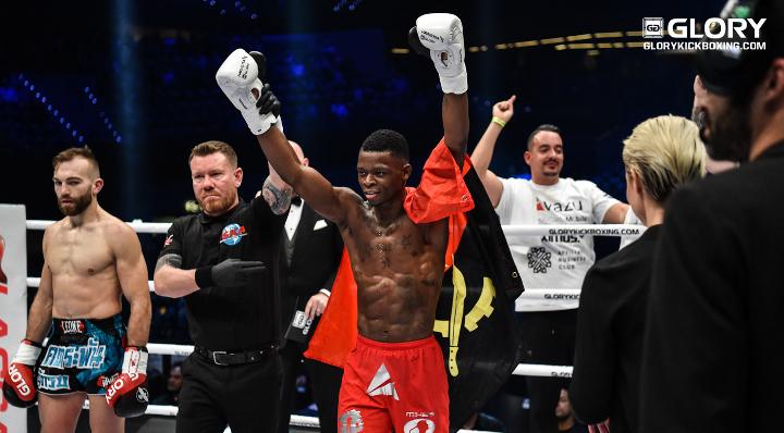'Bad News' Baya gets good news following KO win at GLORY 49