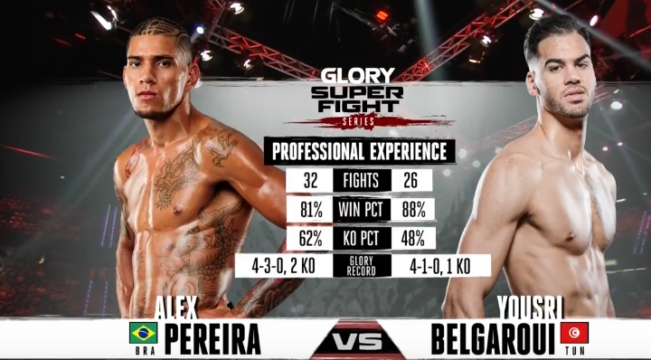 GLORY Redemption: Prelims - Live and Free