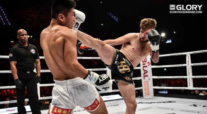 Sugden shines against Zhang at GLORY REDEMPTION