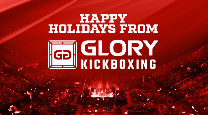 Happy Holidays from GLORY Kickboxing