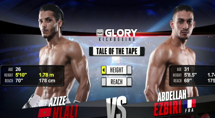 GLORY 47 Lyon: Azize Hlali vs. Abdellah Ezbiri (Tournament semi-finals) - FULL FIGHT
