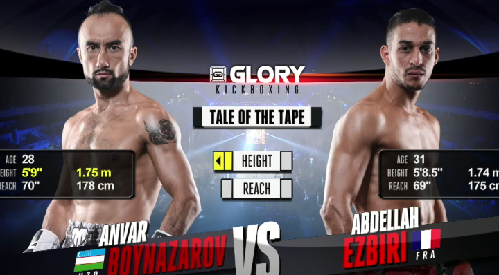 GLORY 47 Lyon: Anvar Boynazarov vs. Abdellah Ezbiri (Tournament Finals) - FULL FIGHT