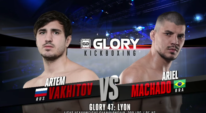 GLORY 47 Lyon: Artem Vakhitov vs. Ariel Machado (Light Heavyweight Title Match) - FULL FIGHT